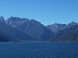 Thompson Sound, Fiordland National Park, New Zealand. Image Credit: (c) 2008, Nicole Radziwill.