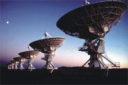 The Very Large Array (VLA) near Socorro, NM