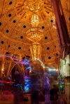 Inside the Temple of Grace at Burning Man 2014. Image Credit: John David Tupper (photographerinfocus.com)